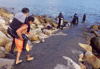 台灣的潛水環境不利身障者