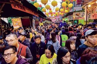 台北迪化街採買年貨