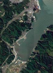 高濱地區災後重建的堤防