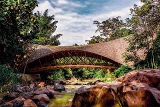 亞洲最長的竹橋