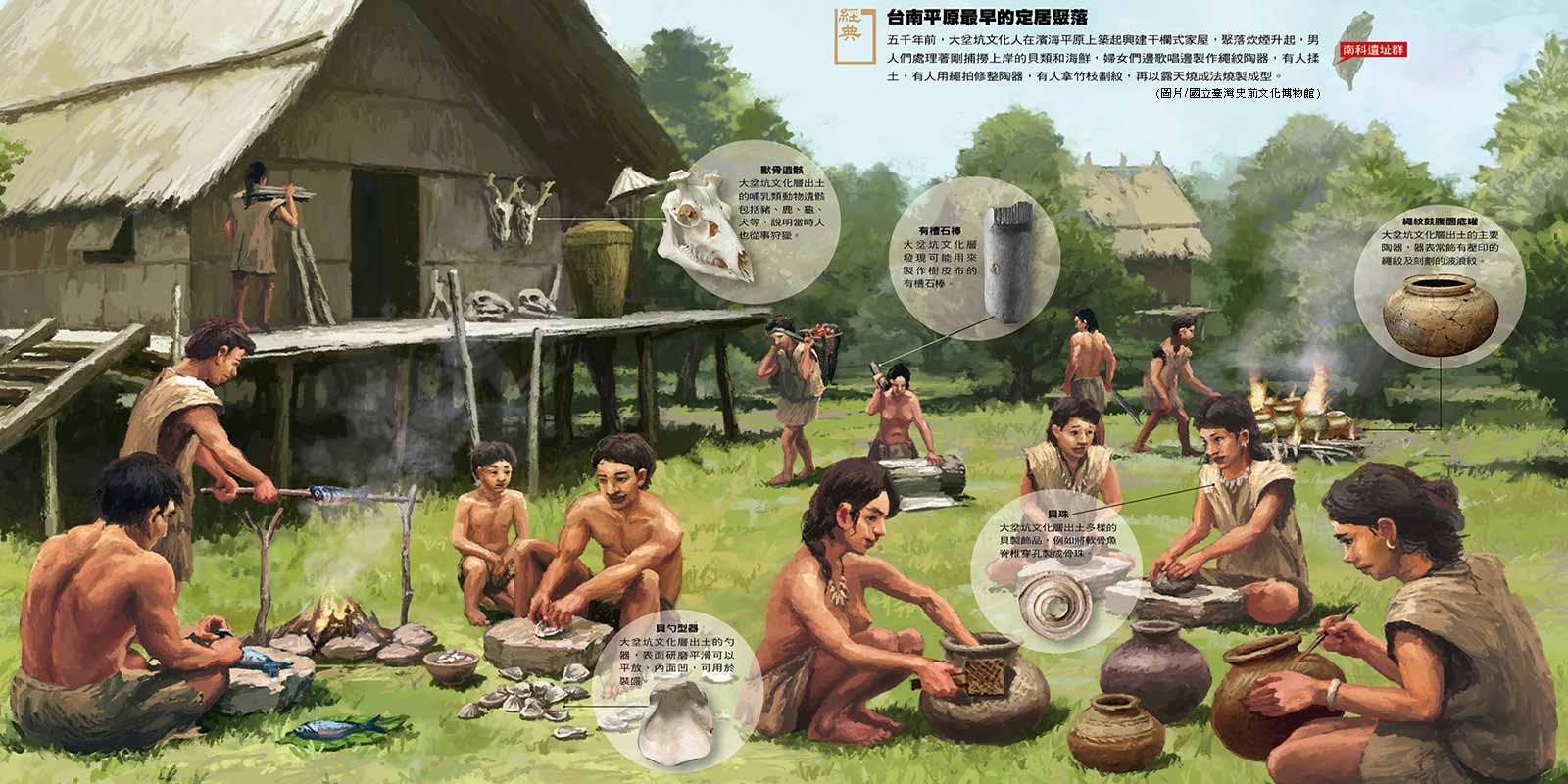 南科遺址群─台南平原最早的定居聚落
